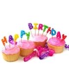 شمع تولد - روی کیک
